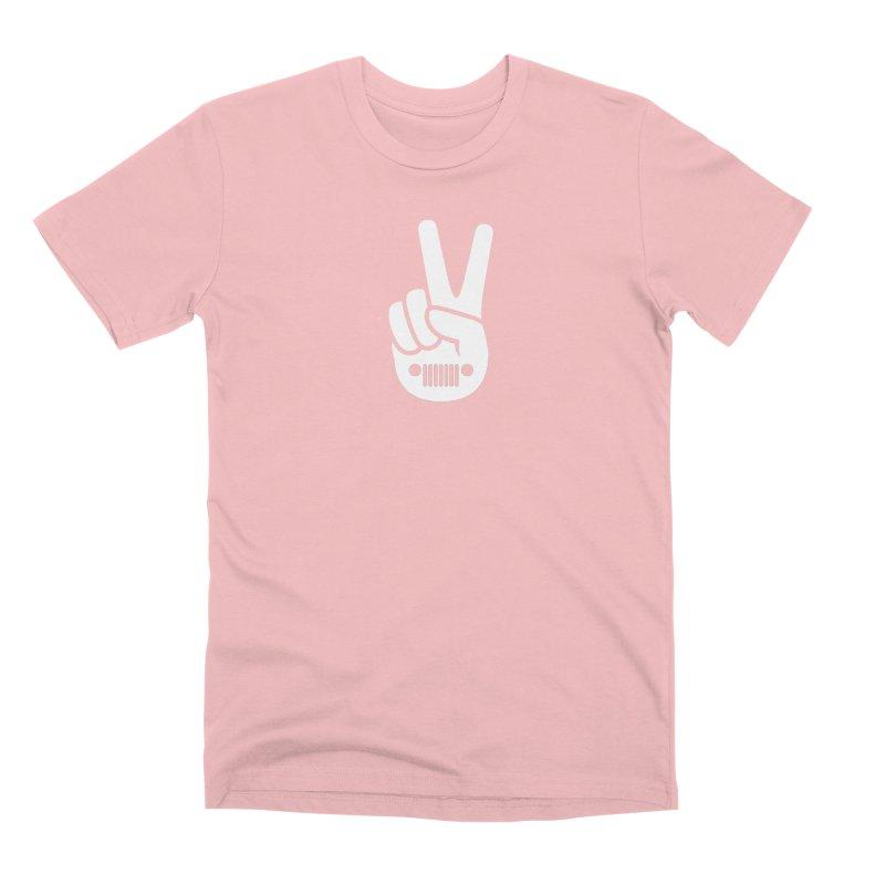 Peace Jeep Men's Premium T-Shirt by JeepVIPClub's Artist Shop
