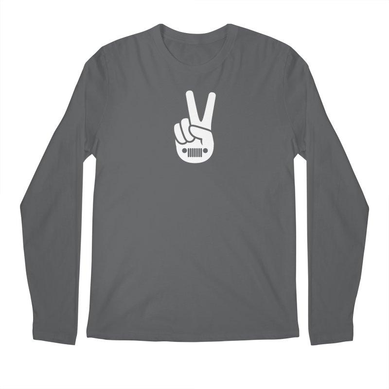 Peace Jeep Men's Longsleeve T-Shirt by JeepVIPClub's Artist Shop