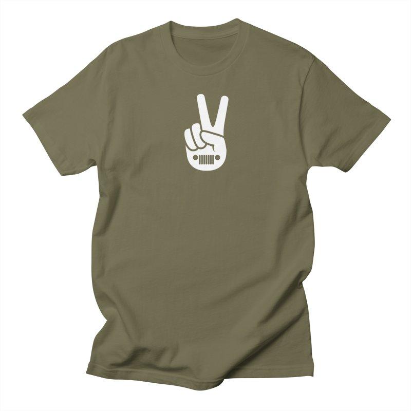 Peace Jeep Women's Regular Unisex T-Shirt by JeepVIPClub's Artist Shop