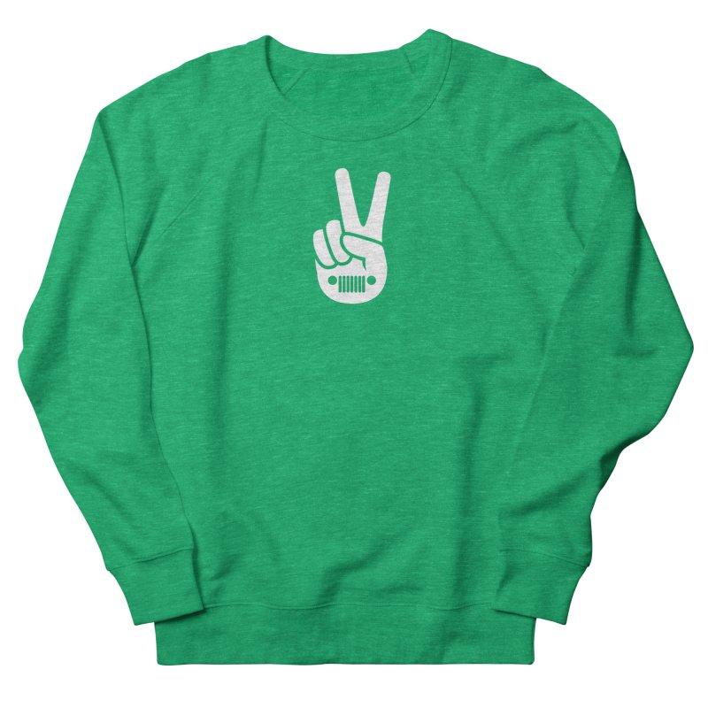 Peace Jeep Women's Sweatshirt by JeepVIPClub's Artist Shop