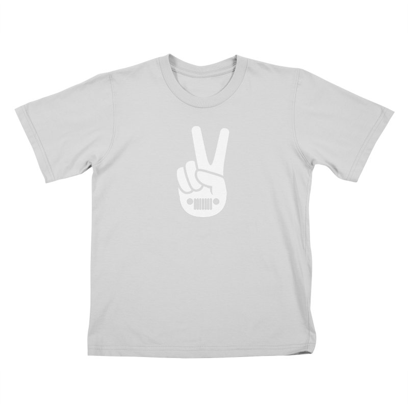 Peace Jeep Kids T-Shirt by JeepVIPClub's Artist Shop