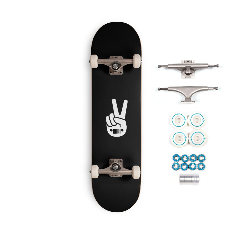 Peace Jeep Accessories Complete - Basic Skateboard by JeepVIPClub's Artist Shop
