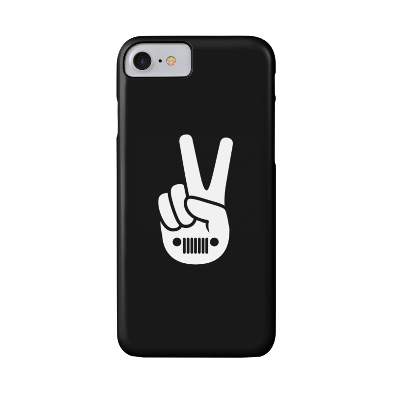 Peace Jeep Accessories Phone Case by JeepVIPClub's Artist Shop