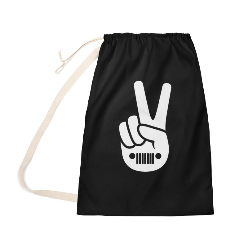 Peace Jeep Accessories Bag by JeepVIPClub's Artist Shop