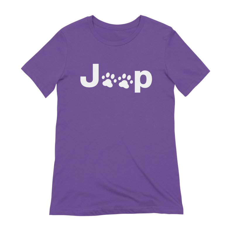 Put Your Paws Together! Women's Extra Soft T-Shirt by JeepVIPClub's Artist Shop