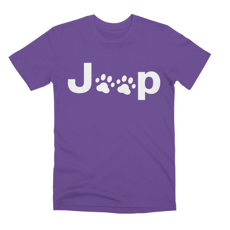 Put Your Paws Together! Men's Premium T-Shirt by JeepVIPClub's Artist Shop