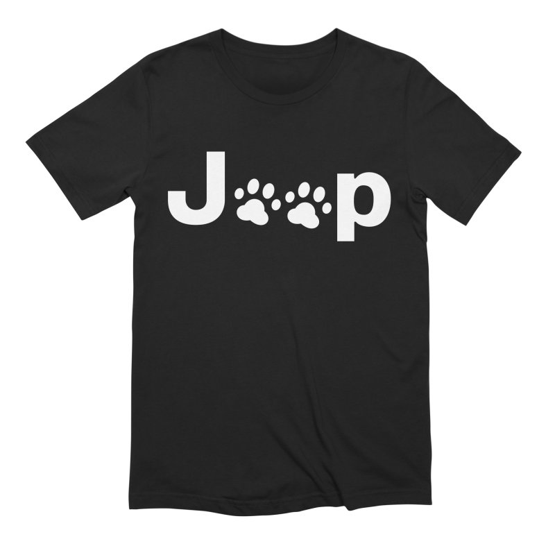 Put Your Paws Together! Men's Extra Soft T-Shirt by JeepVIPClub's Artist Shop