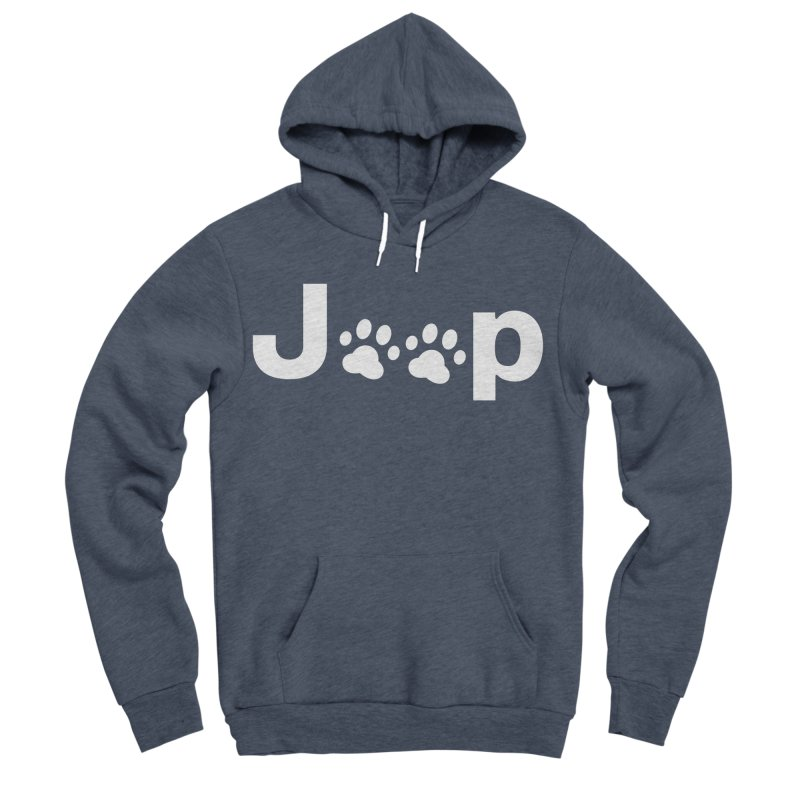 Put Your Paws Together! Men's Sponge Fleece Pullover Hoody by JeepVIPClub's Artist Shop