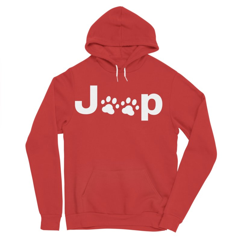 Put Your Paws Together! Women's Sponge Fleece Pullover Hoody by JeepVIPClub's Artist Shop