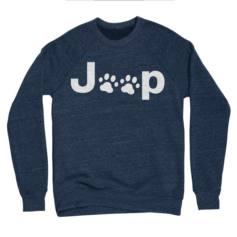 Put Your Paws Together! Men's Sponge Fleece Sweatshirt by JeepVIPClub's Artist Shop