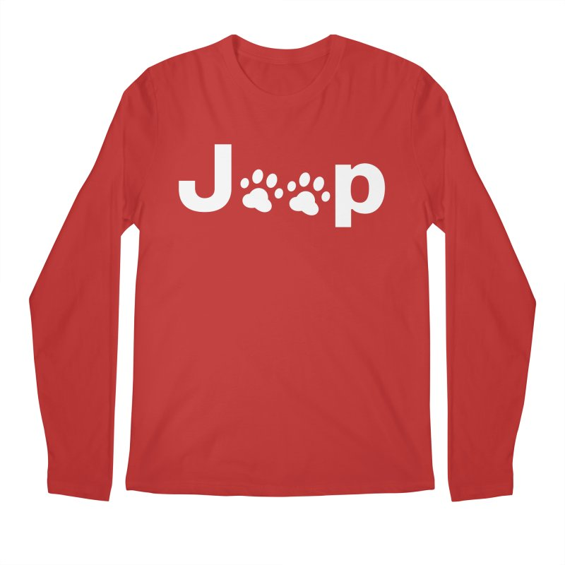 Put Your Paws Together! Men's Regular Longsleeve T-Shirt by JeepVIPClub's Artist Shop