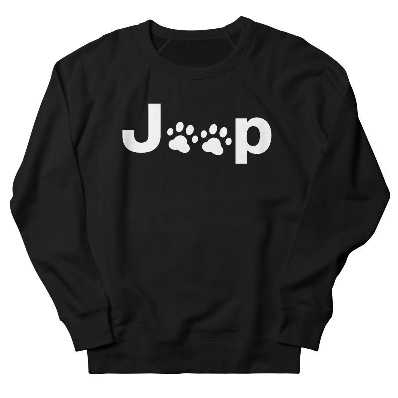 Put Your Paws Together! Women's French Terry Sweatshirt by JeepVIPClub's Artist Shop