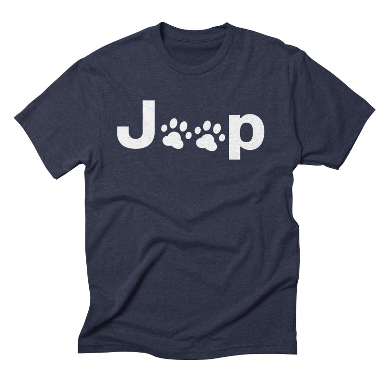 Put Your Paws Together! Men's Triblend T-Shirt by JeepVIPClub's Artist Shop
