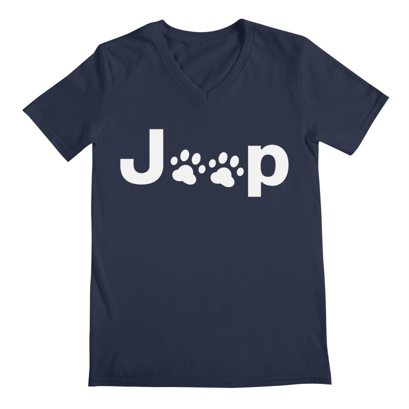 Put Your Paws Together! Men's Regular V-Neck by JeepVIPClub's Artist Shop