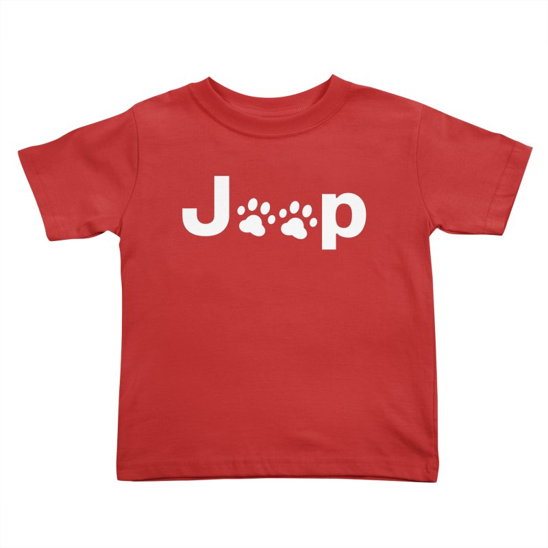 Put Your Paws Together! Kids Toddler T-Shirt by JeepVIPClub's Artist Shop