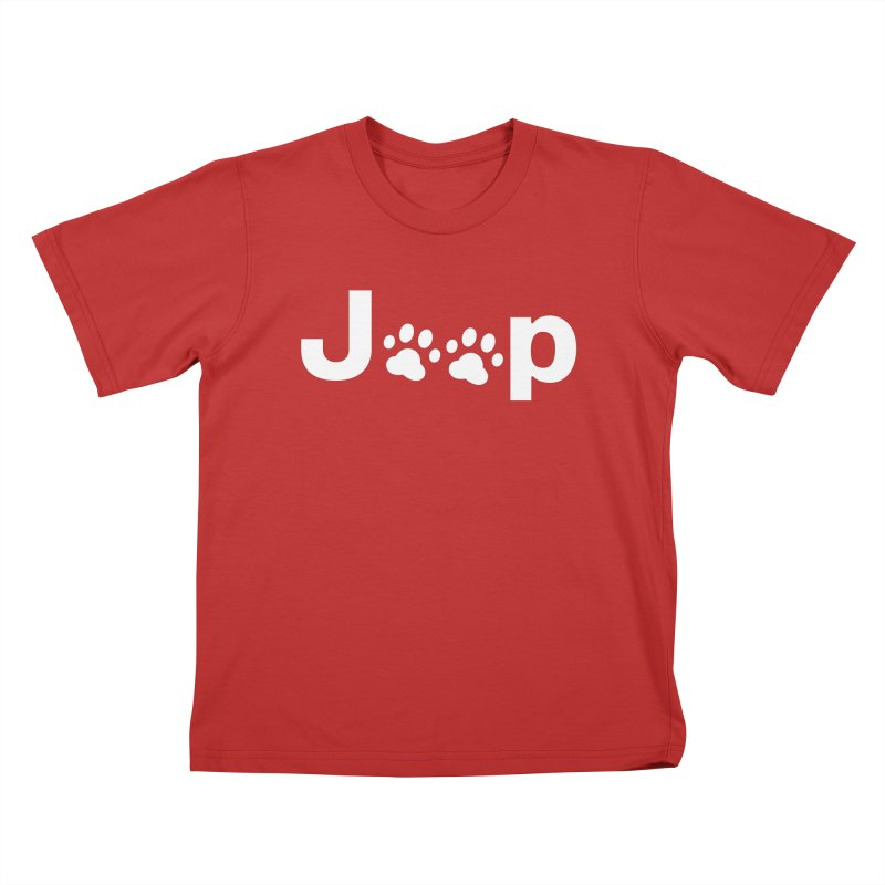 Put Your Paws Together! Kids T-Shirt by JeepVIPClub's Artist Shop
