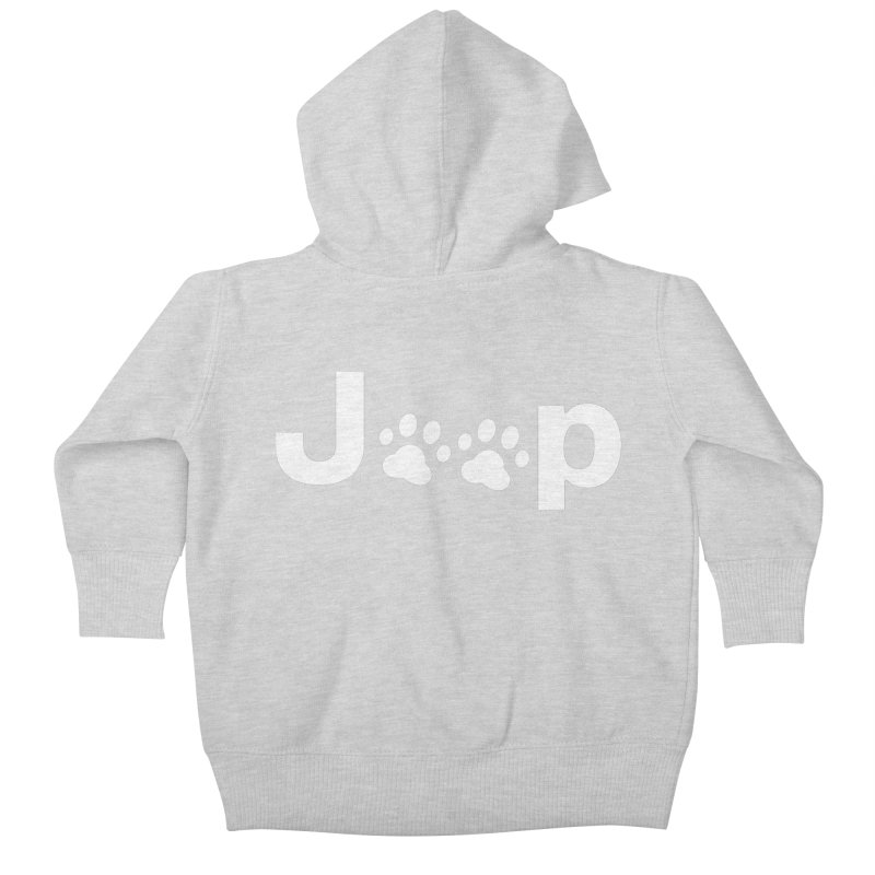 Put Your Paws Together! Kids Baby Zip-Up Hoody by JeepVIPClub's Artist Shop