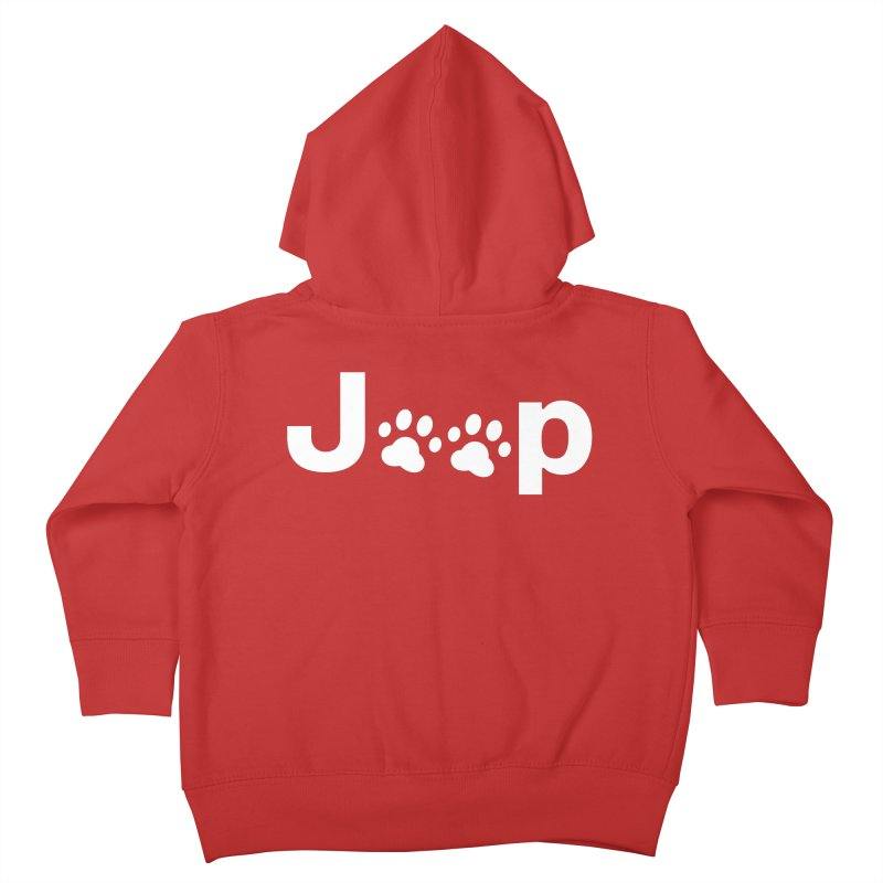 Put Your Paws Together! Kids Toddler Zip-Up Hoody by JeepVIPClub's Artist Shop