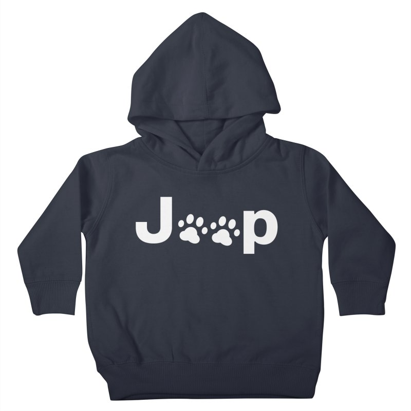 Put Your Paws Together! Kids Toddler Pullover Hoody by JeepVIPClub's Artist Shop