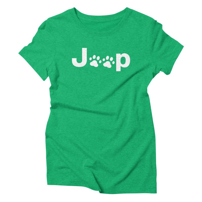 Put Your Paws Together! Women's Triblend T-Shirt by JeepVIPClub's Artist Shop