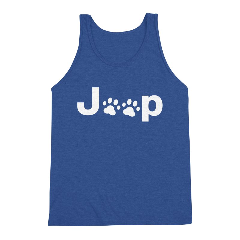 Put Your Paws Together! Men's Triblend Tank by JeepVIPClub's Artist Shop