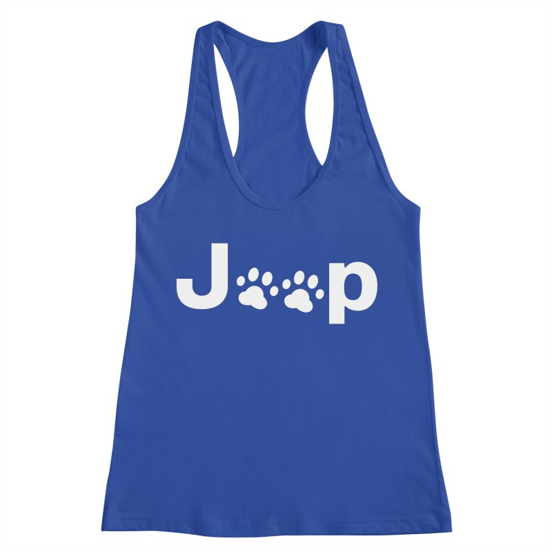 Put Your Paws Together! Women's Racerback Tank by JeepVIPClub's Artist Shop