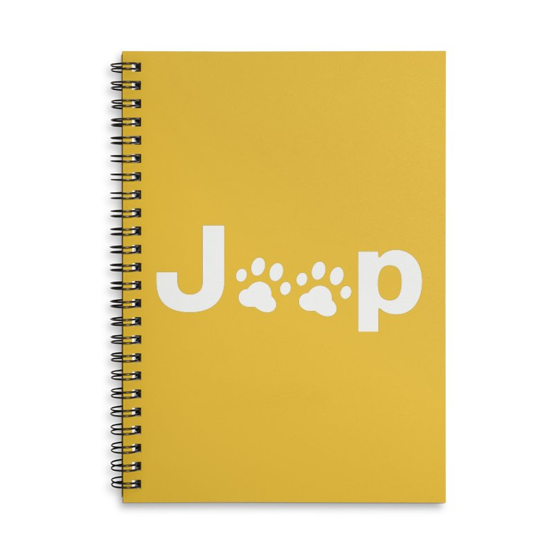Put Your Paws Together! Accessories Lined Spiral Notebook by JeepVIPClub's Artist Shop