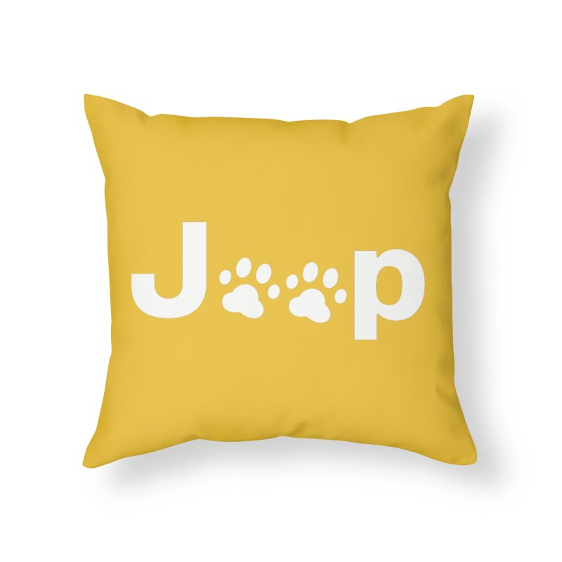 Put Your Paws Together! Home Throw Pillow by JeepVIPClub's Artist Shop