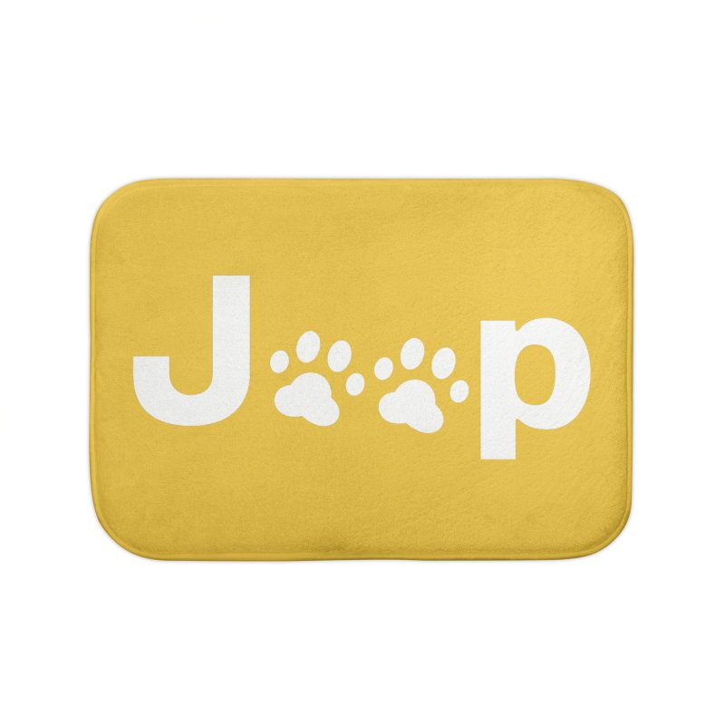 Put Your Paws Together! Home Bath Mat by JeepVIPClub's Artist Shop
