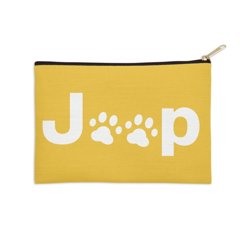 Put Your Paws Together! Accessories Zip Pouch by JeepVIPClub's Artist Shop