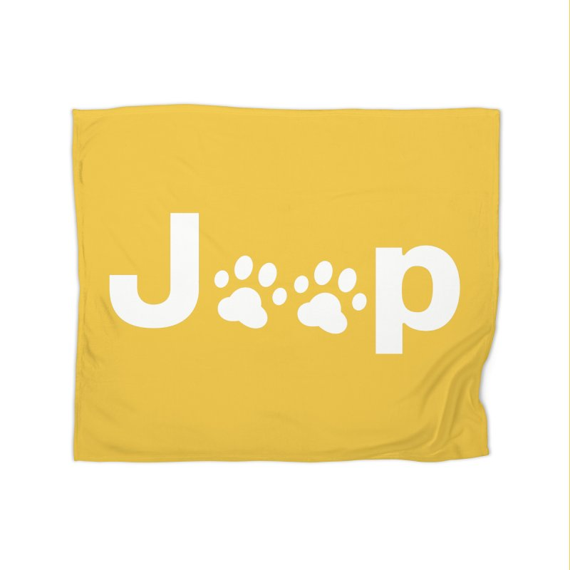 Put Your Paws Together! Home Fleece Blanket Blanket by JeepVIPClub's Artist Shop