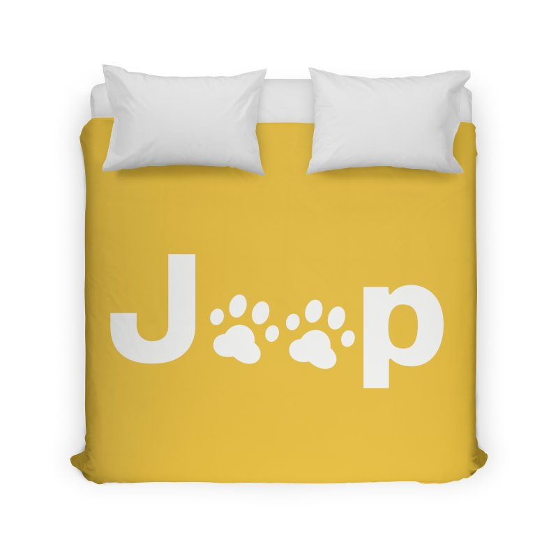 Put Your Paws Together! Home Duvet by JeepVIPClub's Artist Shop