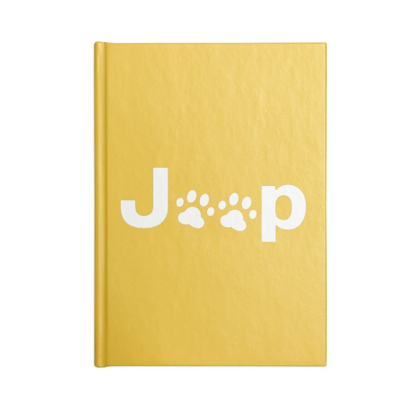 Put Your Paws Together! Accessories Lined Journal Notebook by JeepVIPClub's Artist Shop