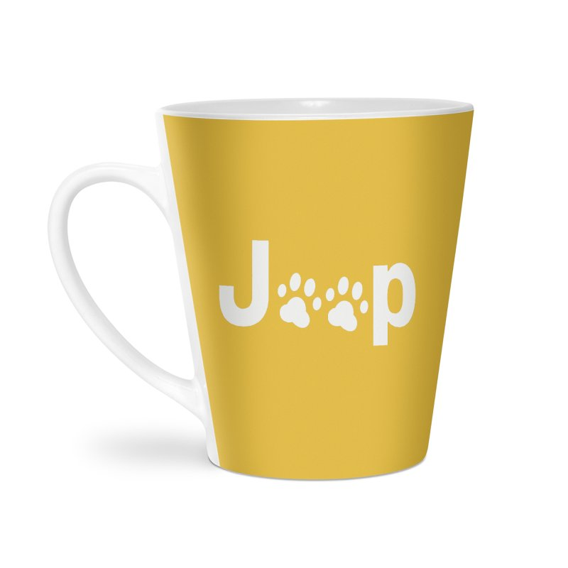 Put Your Paws Together! Accessories Latte Mug by JeepVIPClub's Artist Shop