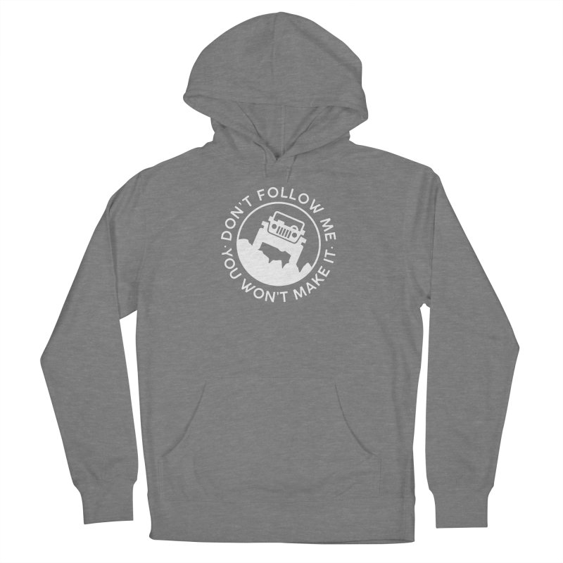 Follow The Leader! Men's French Terry Pullover Hoody by JeepVIPClub's Artist Shop