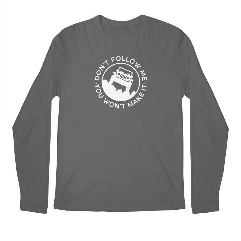 Follow The Leader! Men's Longsleeve T-Shirt by JeepVIPClub's Artist Shop