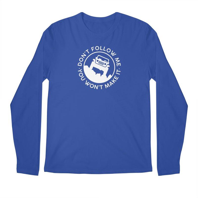 Follow The Leader! Men's Regular Longsleeve T-Shirt by JeepVIPClub's Artist Shop