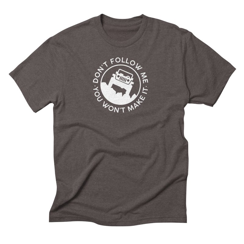 Follow The Leader! Men's Triblend T-Shirt by JeepVIPClub's Artist Shop