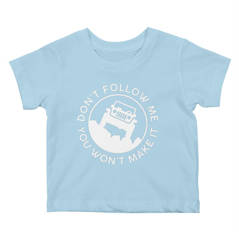 Follow The Leader! Kids Baby T-Shirt by JeepVIPClub's Artist Shop