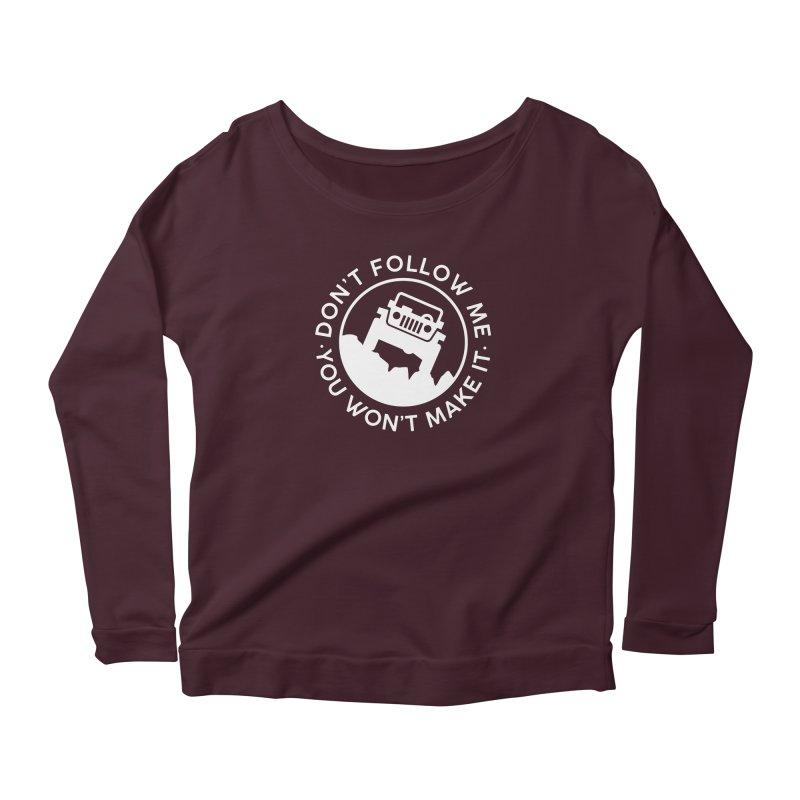 Follow The Leader! Women's Longsleeve T-Shirt by JeepVIPClub's Artist Shop