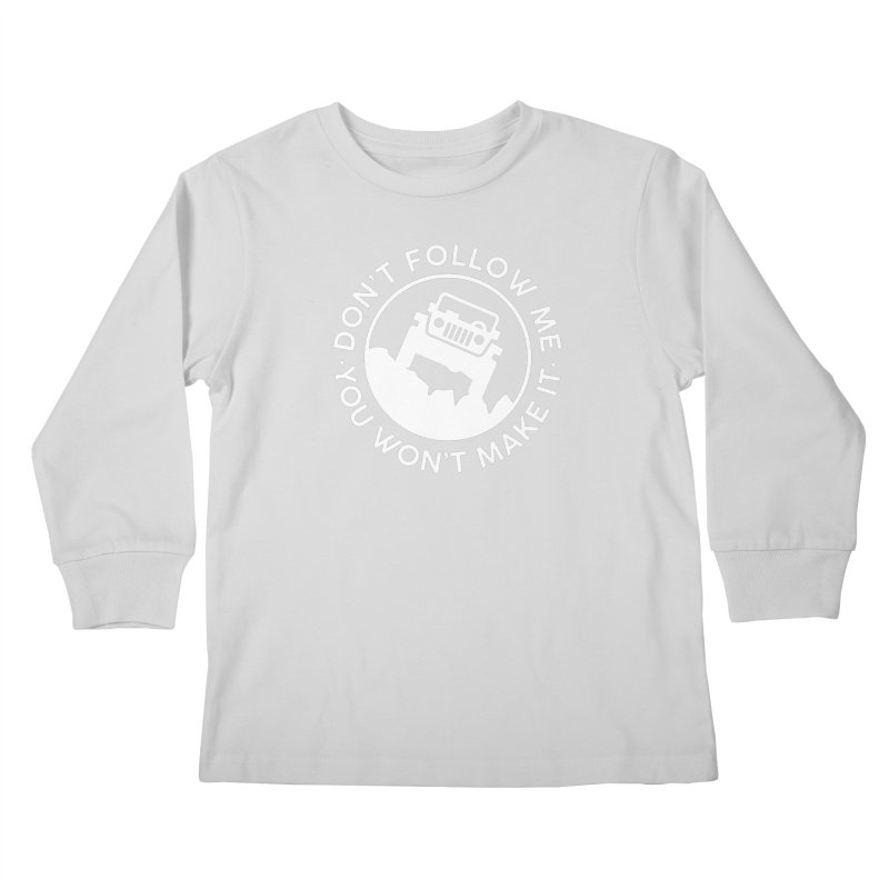 Follow The Leader! Kids Longsleeve T-Shirt by JeepVIPClub's Artist Shop
