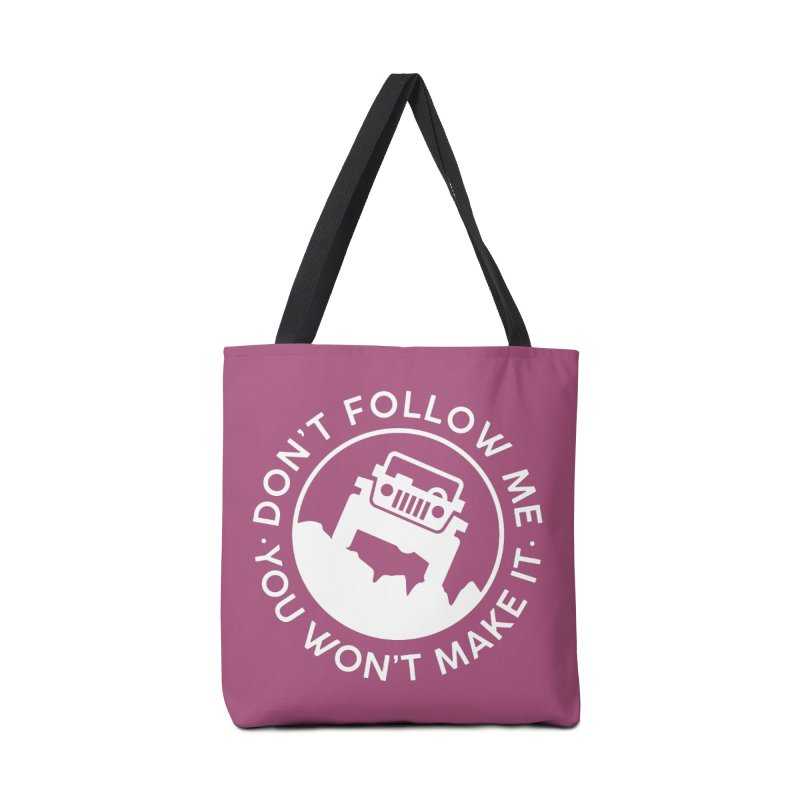 Follow The Leader! Accessories Tote Bag Bag by JeepVIPClub's Artist Shop