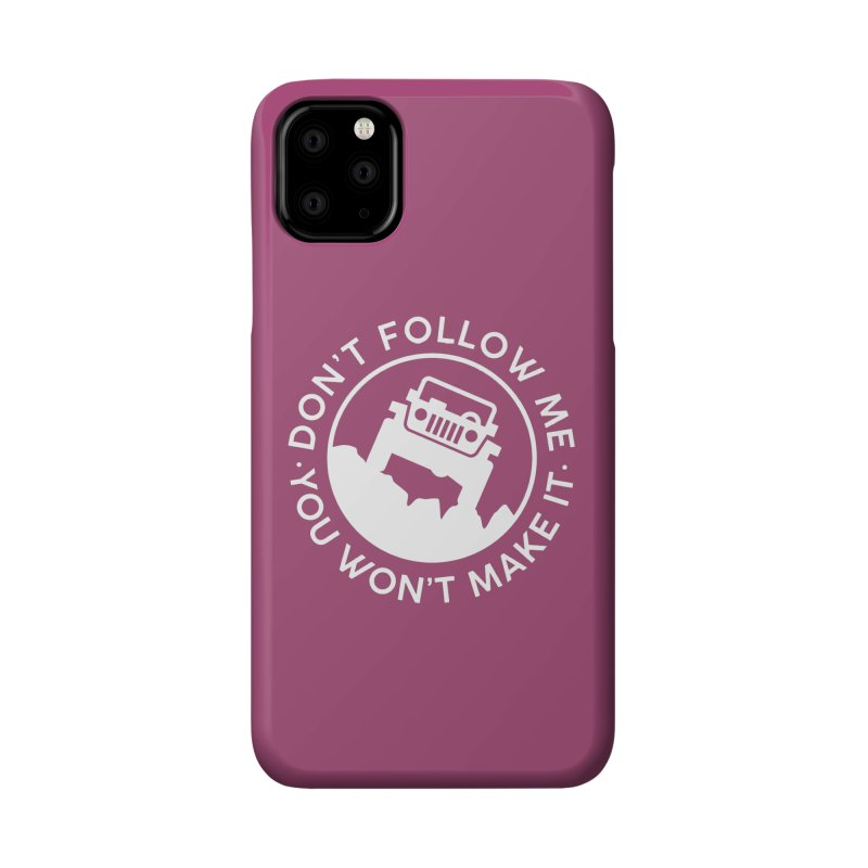 Follow The Leader! Accessories Phone Case by JeepVIPClub's Artist Shop