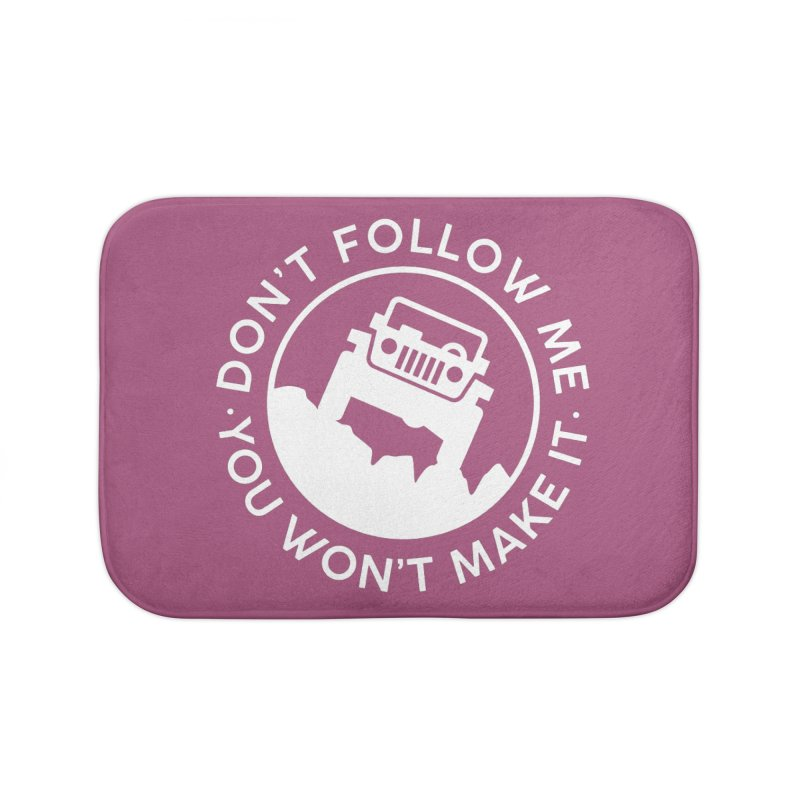 Follow The Leader! Home Bath Mat by JeepVIPClub's Artist Shop