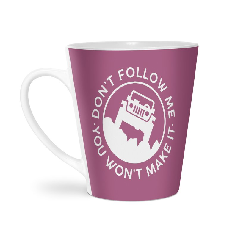 Follow The Leader! Accessories Latte Mug by JeepVIPClub's Artist Shop