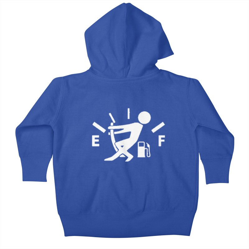 Get Your Fill! Kids Baby Zip-Up Hoody by JeepVIPClub's Artist Shop