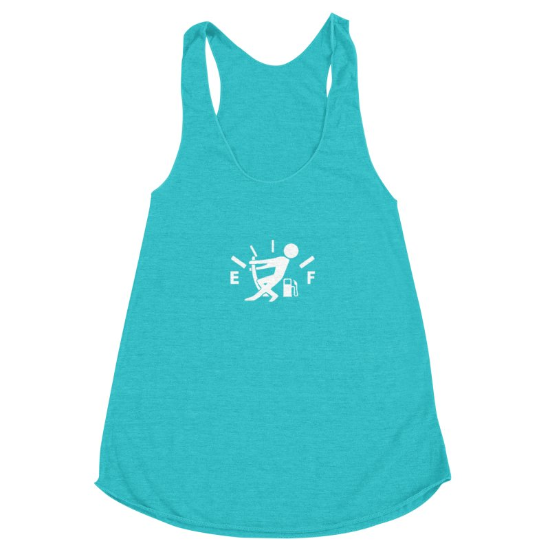Get Your Fill! Women's Racerback Triblend Tank by JeepVIPClub's Artist Shop