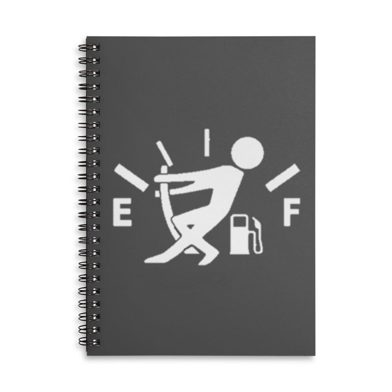 Get Your Fill! Accessories Lined Spiral Notebook by JeepVIPClub's Artist Shop