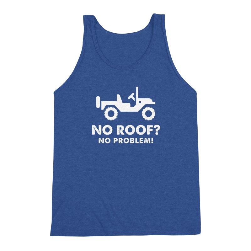 No Roof? No Problem! Men's Tank by JeepVIPClub's Artist Shop