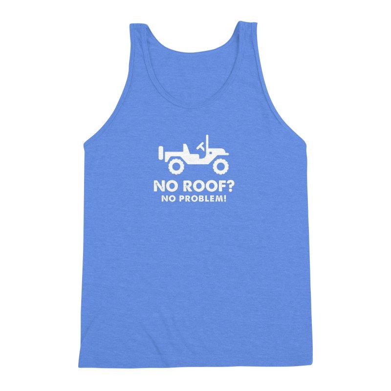 No Roof? No Problem! Men's Triblend Tank by JeepVIPClub's Artist Shop